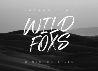 Wild Foxs Font