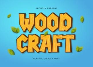 Woodcraft Font