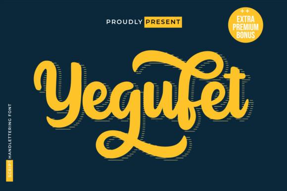Yegufet Font
