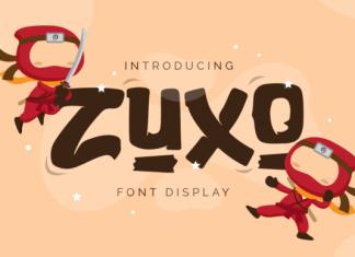 Zuxo Font