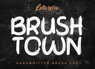 Brush Town Font