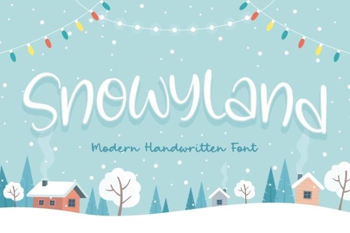 Snowyland Font