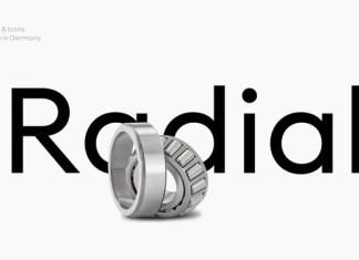 Neue Radial Font