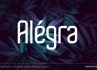 Alegra Font
