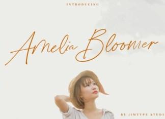 Amelia Bloomer Font