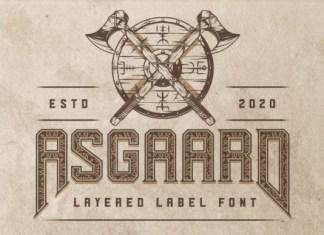 Asgaard Font