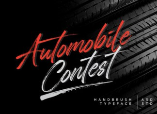 Automobile Contest Font