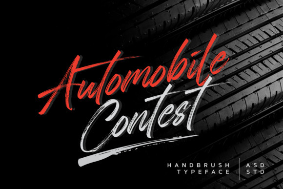 Automobile Contest Font