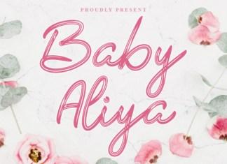 Baby Aliya Font