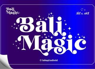 Bali Magic Font