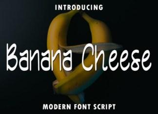 Banana Cheese Font
