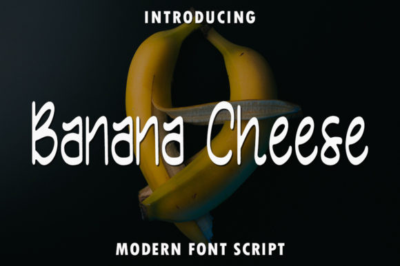 Banana Cheese Font