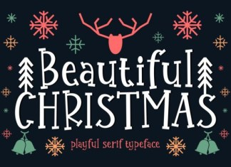 Beautiful Christmas Font