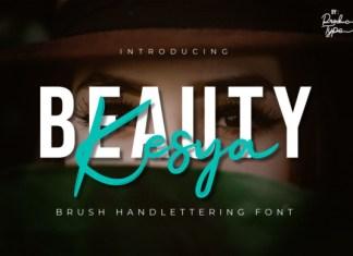 Beauty Kesya Font