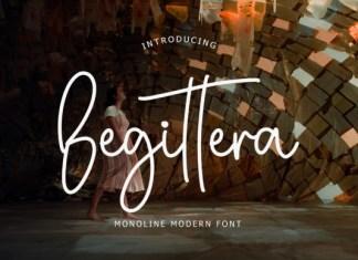 Begittera Font