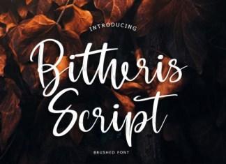 Bitheris Script Font