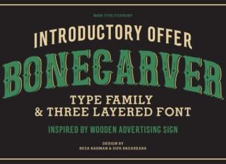 Bone Carver Font
