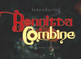 Bonnitta Combine Font