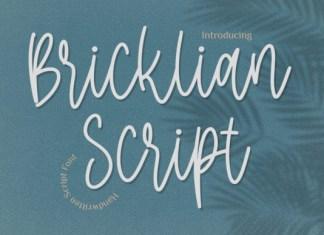 Bricklian Script Font