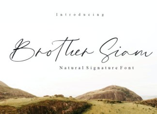 Brother Siam Font