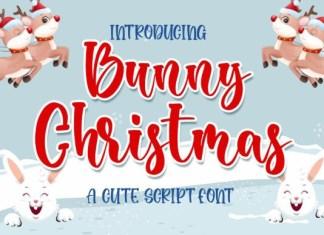Bunny Christmas Font
