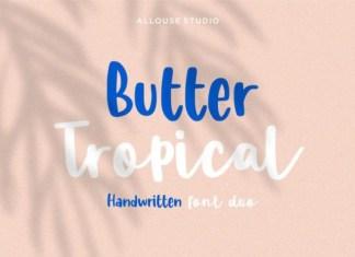 Butter Tropical Font