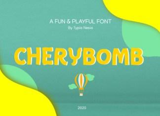 Chery Bomb Font