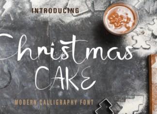 Christmas Cake Font