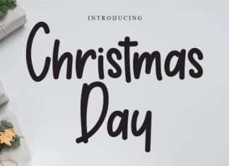 Christmas Day Font