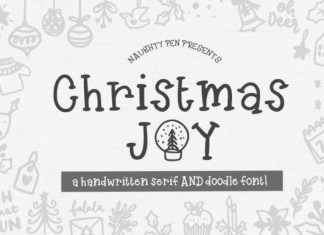 Christmas Joy Font
