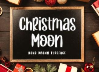 Christmas Moon Font