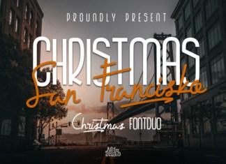 Christmas San Francisko Font