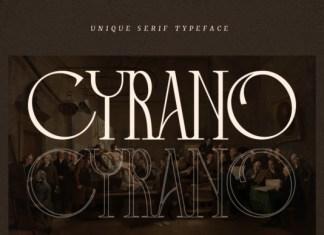 Cyrano Font