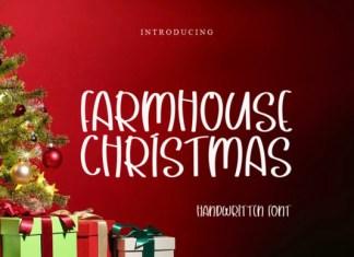Farmhouse Christmas Font