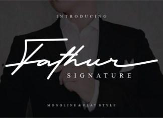 Fathur Font