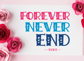 Forever Never End Font