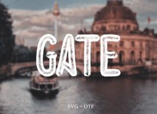 Gate Font