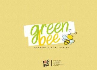 Green Bee Font
