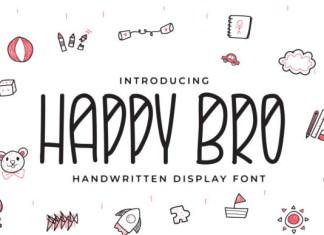 Happy Bro Font