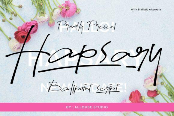 Hapsary Font