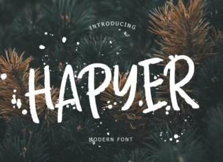 Hapyer Font