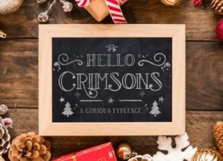 Hello Crimsons Font