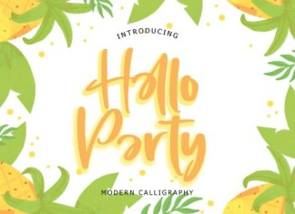Hello Party Font