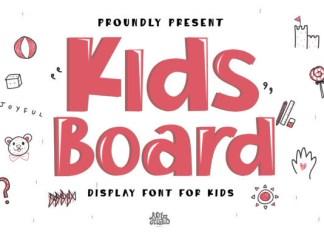 Kids Board Font