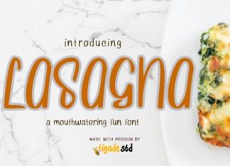 Lasagna Font
