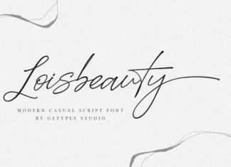 Loisbeauty Font