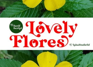 Lovely Flores Font