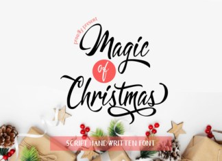 Magic of Christmas Font