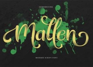 Mallen Font