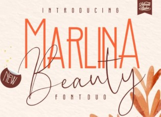 Marlina Beauty Font